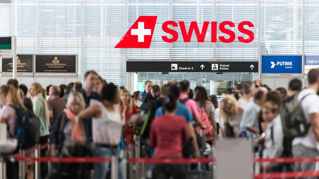 9 Schritte: So reist man in Zukunft am Flughafen Zürich