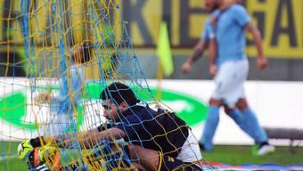 Für Goalie Alessandro Iacobucci und den FC Parma sieht die Zukunft immer wie düsterer aus.