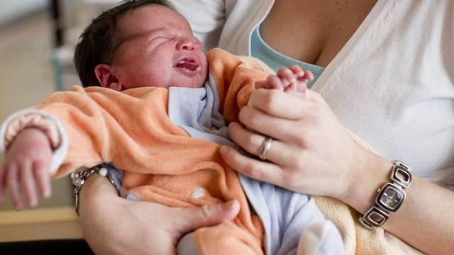 Ein Säugling (Archiv)
