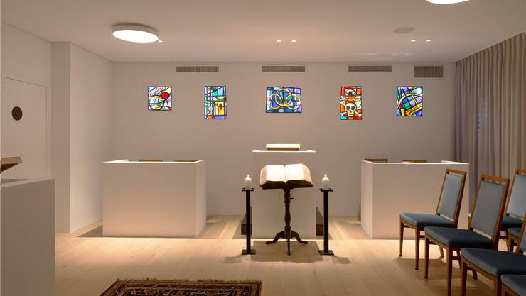 Der Versammlungsraum.Bild: zvg