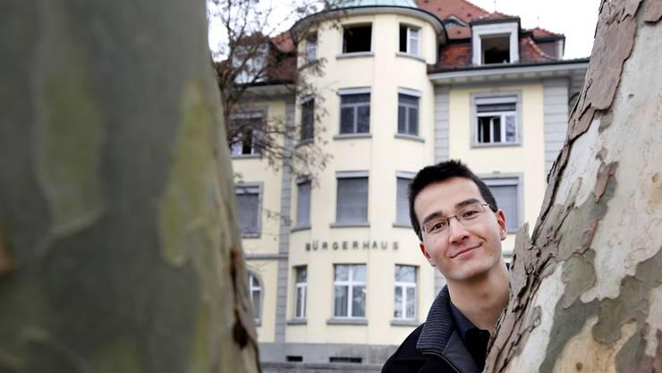 Richard Aschberger ist Präsident der SVP Stadt Grenchen und Mitglied des Bürgerrats.