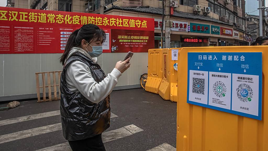 Erster Jahrestag der Abriegelung Wuhans
