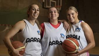 Marjana (30), Kristina (27) und Dijana (24) Milenkovic sind in Aarau Schlüsselspielerinnen.
