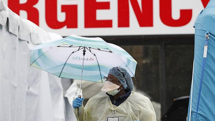 Der Grossraum New York ist vom Coronavirus besonders betroffen.