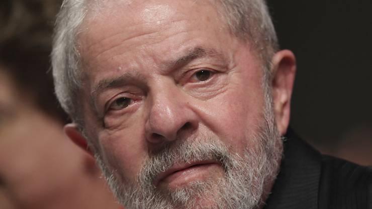 Zu Haftstrafe verurteilt: Brasiliens ehemaliger Präsident Lula. (Archiv)