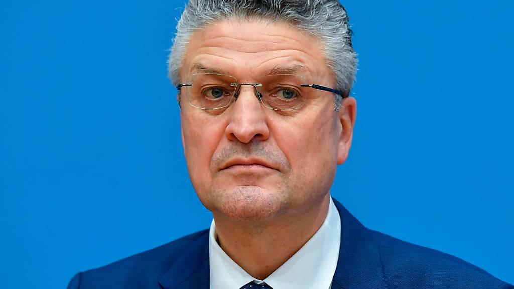 RKI-Präsident Lothar Wieler. Foto: Tobias Schwarz/AFP/Pool/dpa