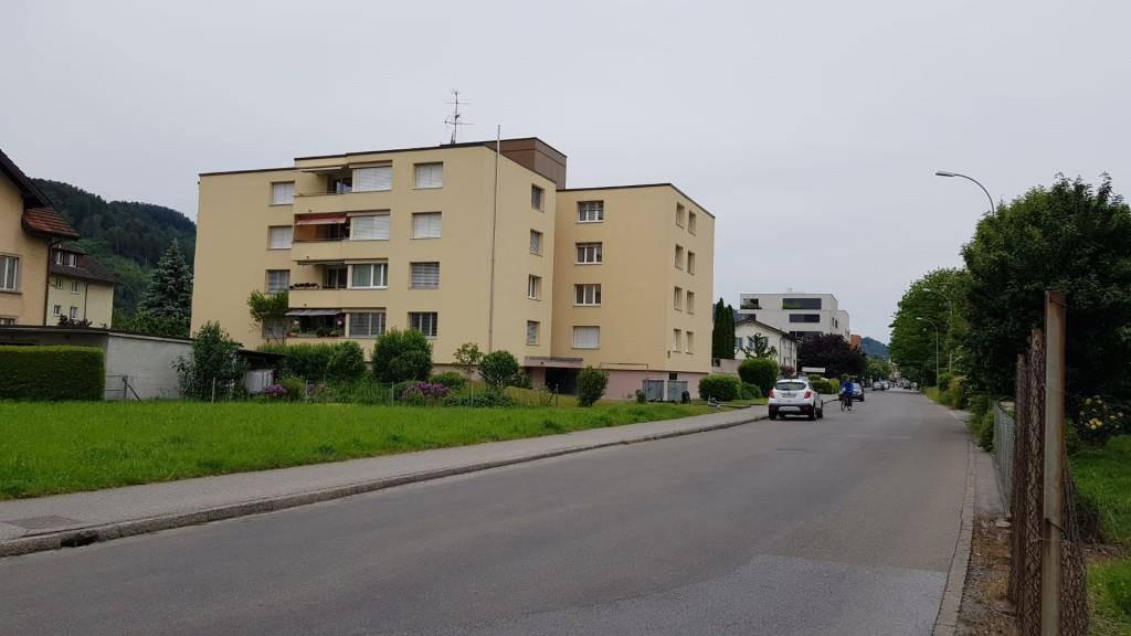 Der Angriff ereignete sich an der Industriestrasse in St.Margrethen. (© TVO)
