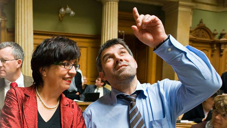 Schon in seinem ersten Jahr als Nationalrat 2008 wusste Eric Nussbaumer, wohin er will.
