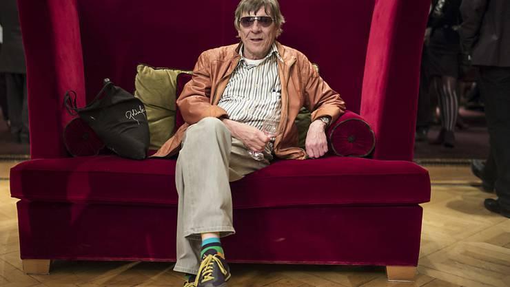 Die Berner Rocklegende Polo Hofer erinnert sich an seinen roten Grossvater (Archiv).