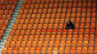 Vorerst bleibt die Saalsporthalle leer: Die nächsten beiden Meisterschaftsspiele von GC Amicitia mussten verschoben werden