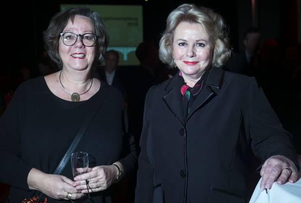Beatrice Isler, Grossrätin CVP und Sibylle von Heydebrand, Präsidentin FrauenBasel.ch