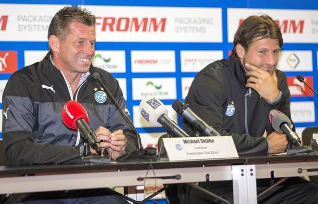 GC-Trainer Michael Skibbe und sein Captain Vero Salatic