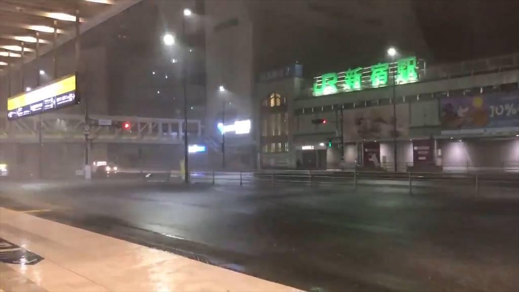 Japan: Taifun «Faxai» fordert drei Tote und über 40 Schwerverletzte