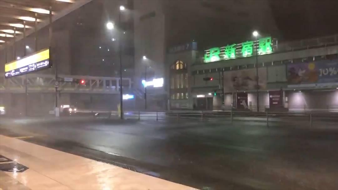 """Japan: Taifun """"Faxai"""" fordert drei Tote und über 40 Schwerverletzte"""