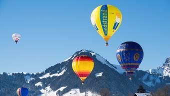 Weniger präzise unterwegs ohne die amerikanischen Vorhersagen: Ballonfahrer.