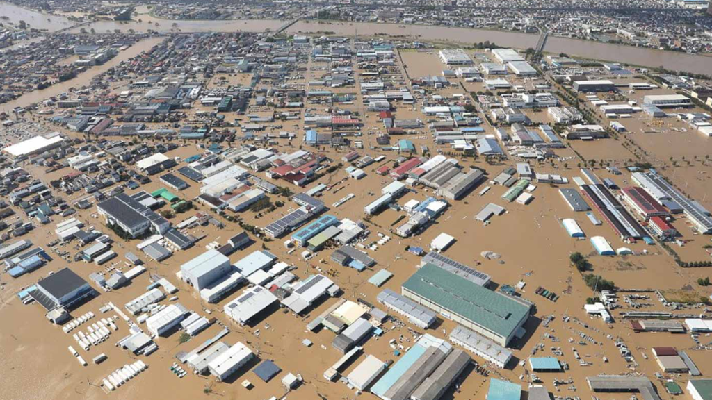 Japan nach der Taifun-Katastrophe