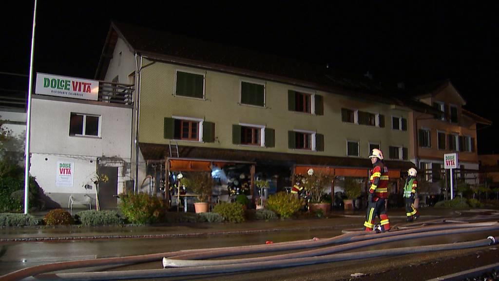 Brandstiftung in Pizzeria in Sirnach