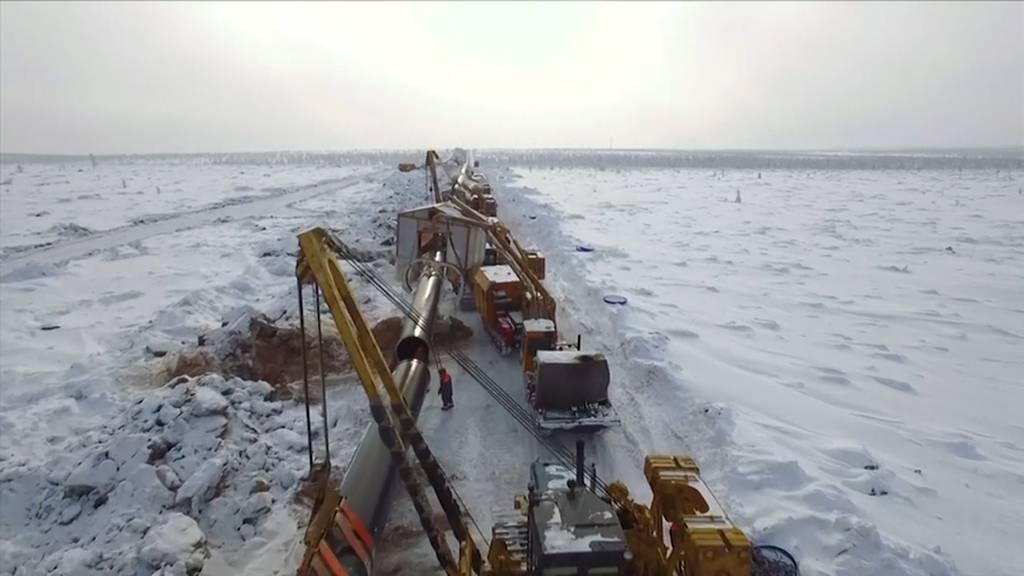 Russland und China weihen Mega-Pipeline ein