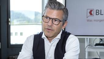 Wehrt sich gegen Personifizierungen: John Häfelfinger, seit Anfang 2017 CEO der BLKB.