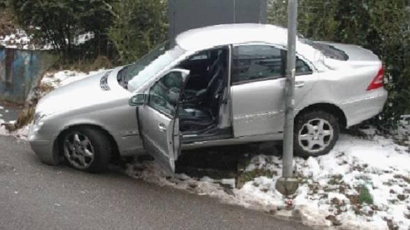 Vom eigenen Auto überrollt
