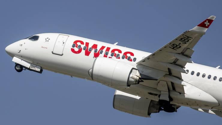 Im Herbstferienmonat Oktober begrüsste die Swiss 1,69 Millionen Fluggäste an Bord. (Archivbild)