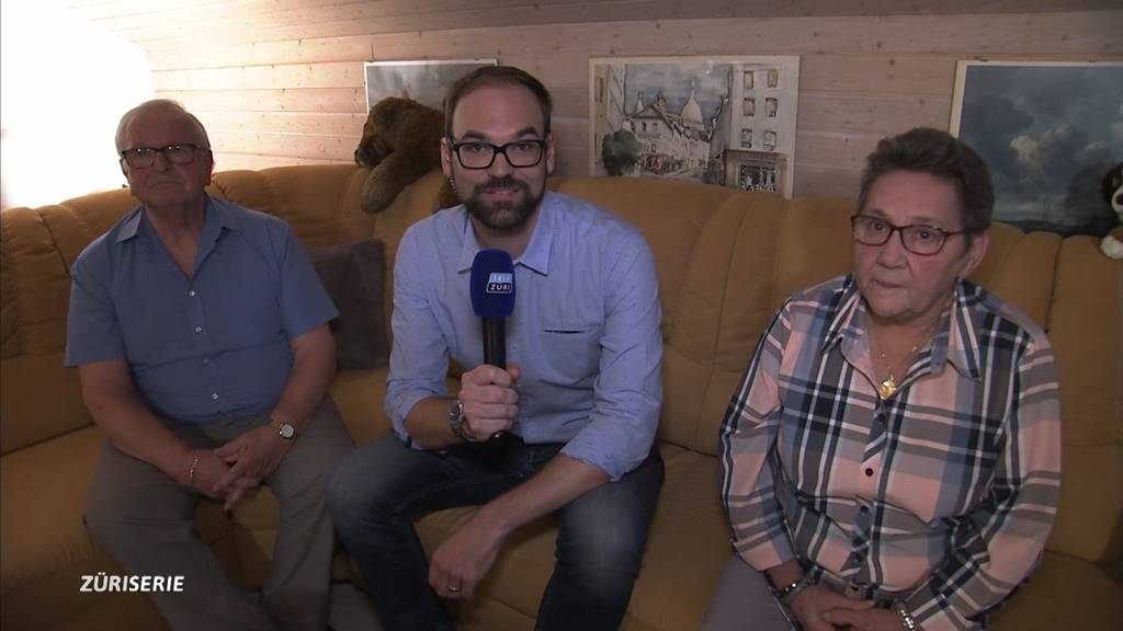 TeleZüri us de Stubä: Hans Gerzner und Silvia Vinzens