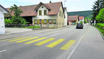 Die Strasse liegt grösstenteils auf Solothurner Boden.