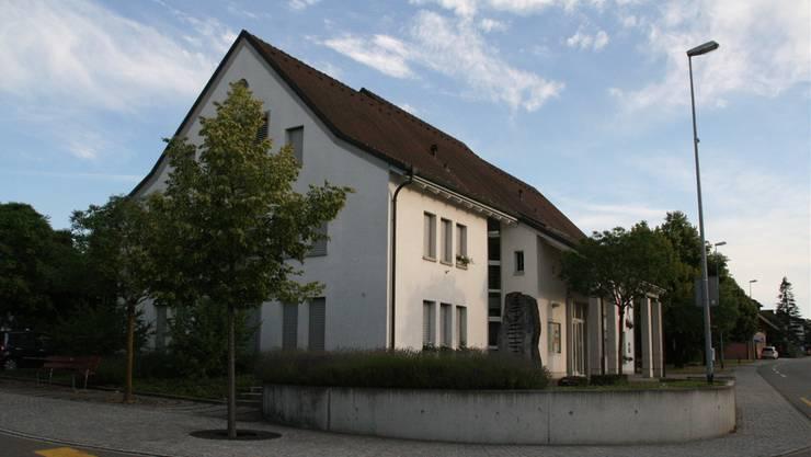 Das Gemeindehaus in Gipf-Oberfrick ist Teil des geplanten neuen Zentrums. Am Gemeindehaus soll eine neue Bushaltestelle entstehen.