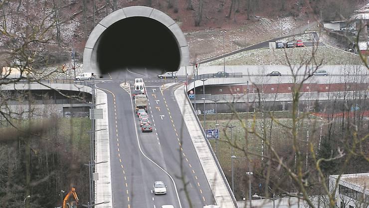 So könnte der Tunnel bei der Siggenthalerbrücke aussehen.