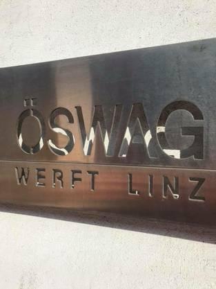 Das Schiff kam aus der Öswag-Werft in Linz
