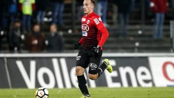Raoul Giger erinnert an Silvan Widmer, den letzten grossen Transfer des FC Aarau. Ob es Giger gelingt, den gleichen Weg wie sein Vorbild einzuschlagen?