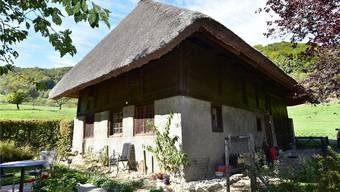 Kommt ins Buch: Das «Strohdachhaus» aus dem 17. Jahrhundert in Rohr