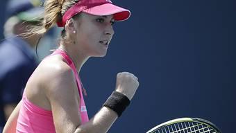 Belinda Bencic steht in New York in den Sechzehntelfinals