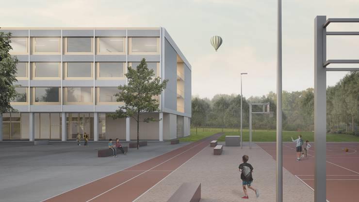 Neubau Schulhaus Risiacher