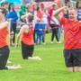 Aargauer Vereine im Vereinswettkampf am 2. Turnfest-Donnerstag in Aarau