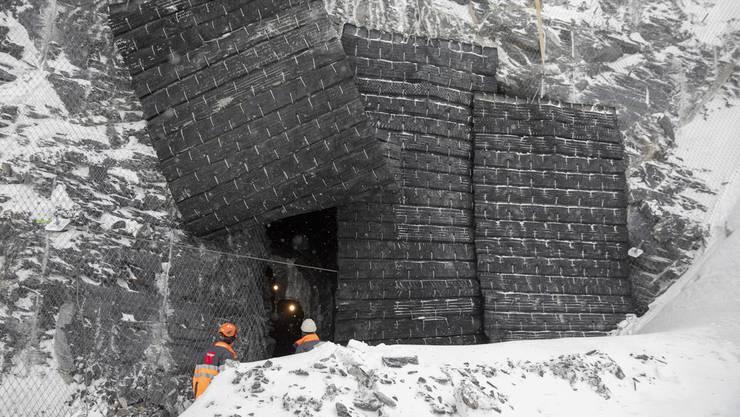 In der Nacht auf Dienstag ereignete sich auf dem Jungfraujoch in einem Tunnel ein tödlicher Arbeitsunfall. (Archivbild)
