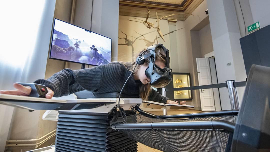 Virtual Reality: Fliegen wie ein Dinosaurier