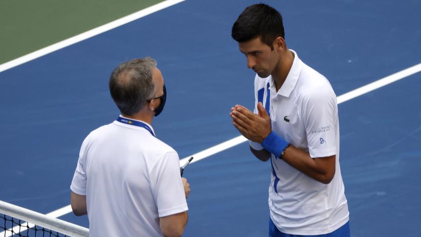 Skandal am US Open: Novak Djokovic trifft Linienrichterin und wird disqualifizert