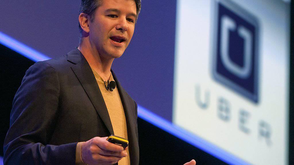 Uber-CEO Travis Kalanick sieht sich mit einem weiteren Abgang in der Chefetage konfrontiert. (Archivbild)