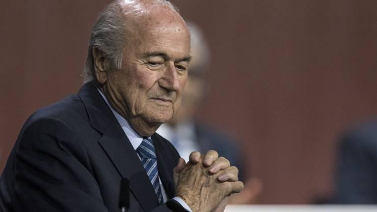 Hüter über die Sportarten sind die Alten: Der alte und neue Fifa-Präsident Sepp Blatter ist bereits 79-jährig.