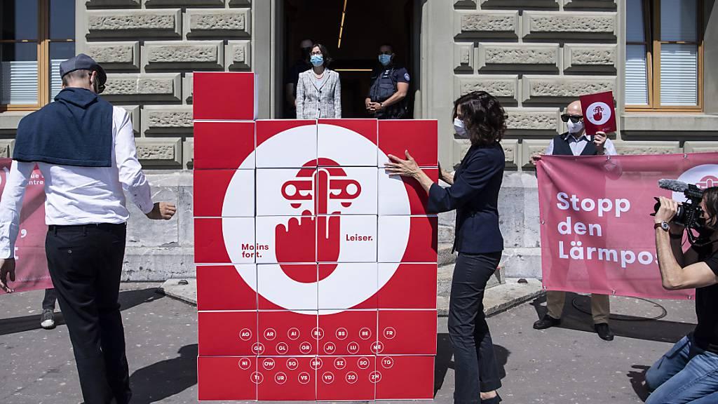 Lärmliga Schweiz reicht Petition gegen Lärmposer ein