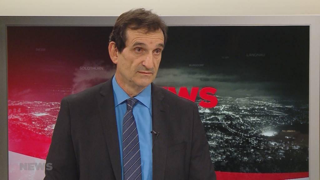 Corona-Lage im Kanton Bern: Gundekar Giebel äussert sich zu der Situation