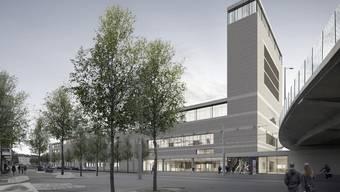 So soll das neue Naturhistorische Museum Basel aussehen.