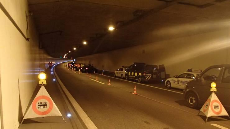 Rund 2000 Personen und 2900 Fahrzeuge wurden kontrolliert.