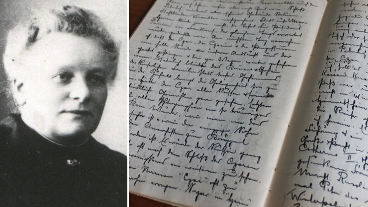 Elise Flury war eine couragierte, reisefreudige Frau. Sie schrieb ihre Reiseerlebnisse in Tagebüchern in schöner Reinschrift nieder.