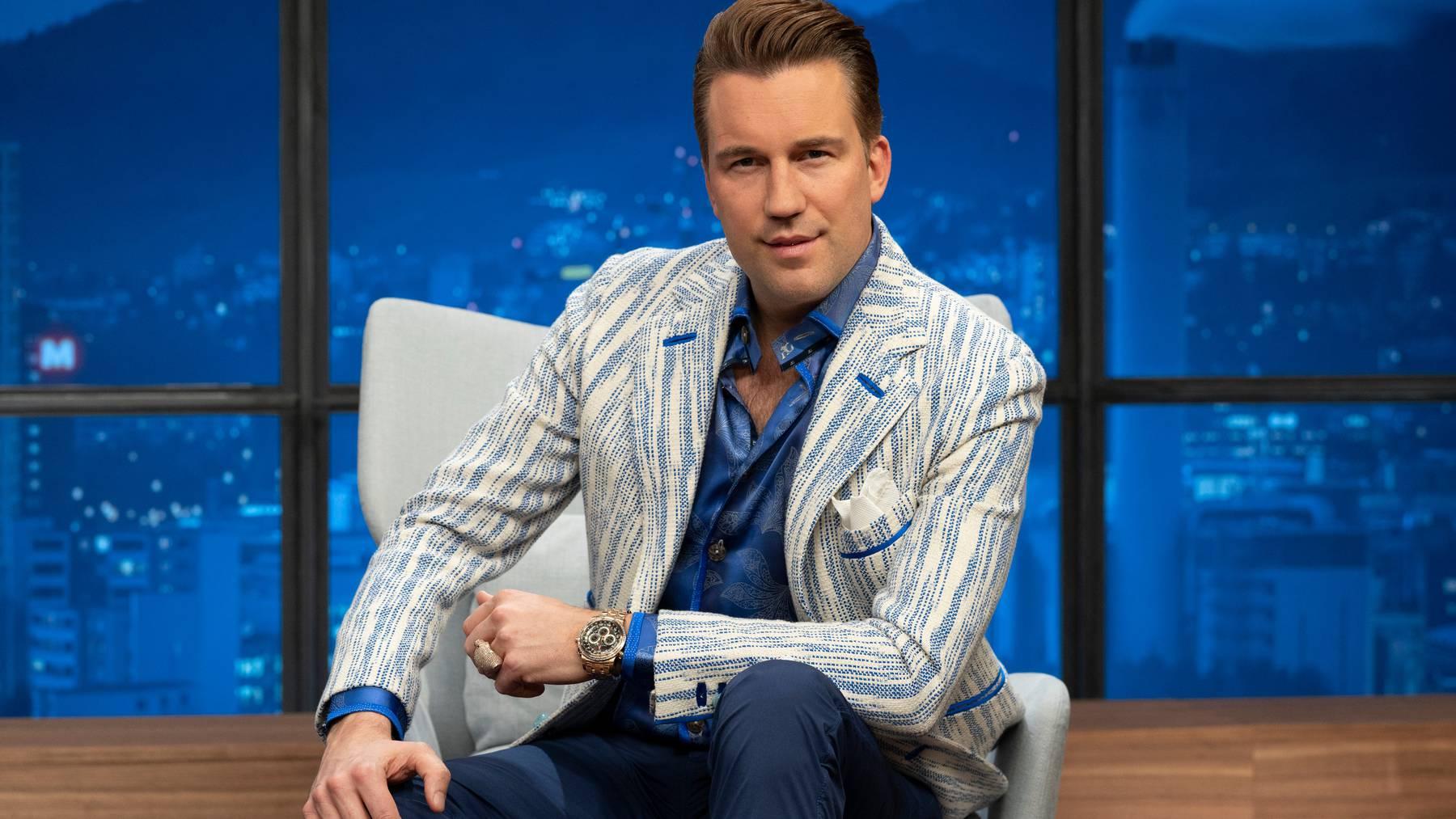 Musikproduzent DJ Antoine ist einer der «Löwen», um deren Investitionen die Kandidaten auf dem Sender TV24 bald wieder buhlen werden.