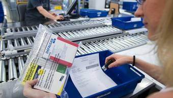 Das Geschäft mit Medikamenten war für die Onlineapotheke Zur Rose mit Sitz in Frauenfeld im vergangenen Jahr weniger lukrativ als auch schon. (Archiv)