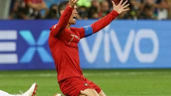 Nach dem Ende der Vorrunde in der Gruppe B nicht frei von Kritik: Portugals Cristiano Ronaldo