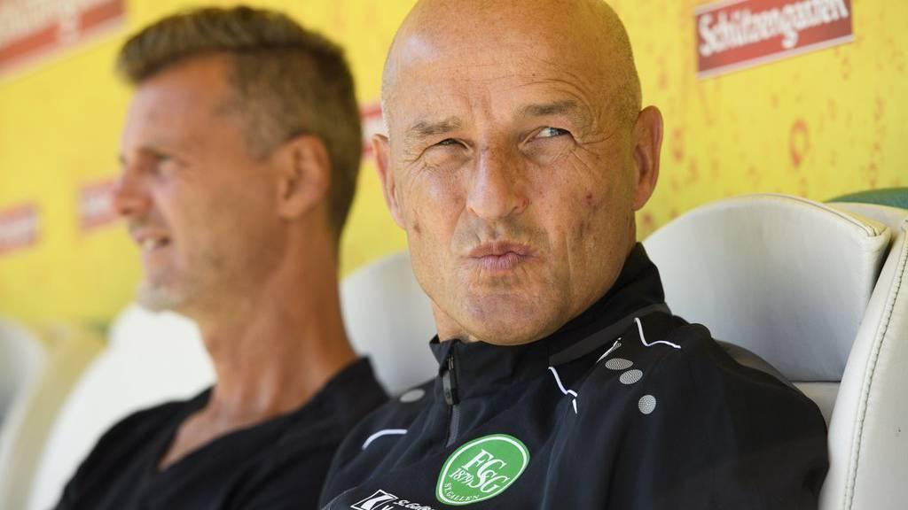 Peter Zeidler und sein Team haben den FC Muri genau studiert.