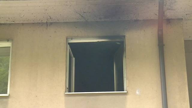 Feuer an der Haldenstrasse in Olten